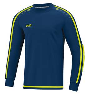 JAKO Keepershirt Striker 2.0 navy-lemon